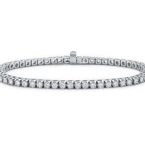 2.6 carats DIAMOND TENNIS BRACELET sparkling diamo